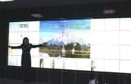Pared interactiva de Panasonic
