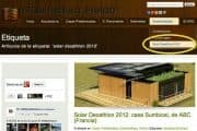 Solar Decathlon 2012 estará en IS-ARQuitectura