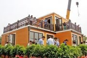 Casas impresas 3D, por la compañía china Zhuoda Group