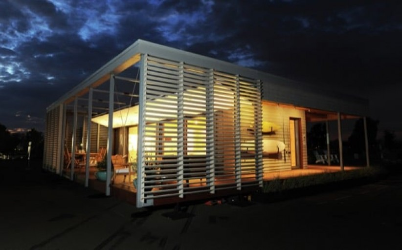 Sure House: casa solar resistente y sostenible