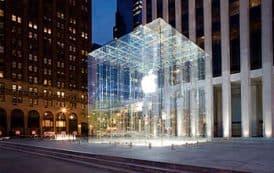 La nueva tienda de Apple en N. York
