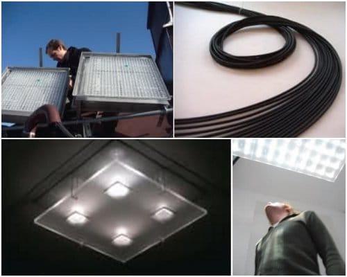 detalles sistema iluminacion Parans
