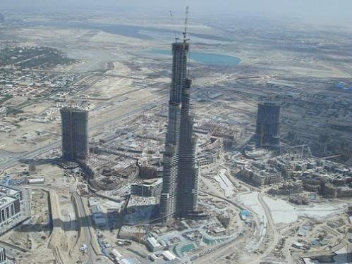 burj dubai agosto 2007