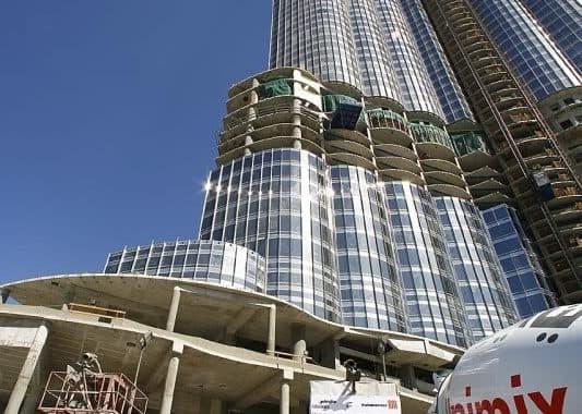 Burj Dubai: fotos enero 2008 y altura definitiva