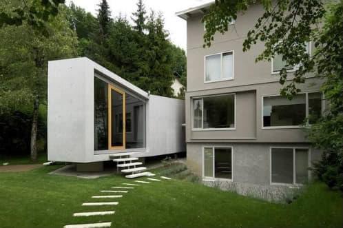 Arquitectura minimalista, arquitectura arriesgada