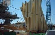Metropol Parasol: maderas para los soportes
