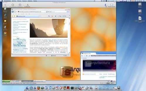 Windows XP en Mac