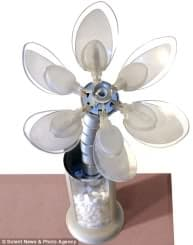 flor para el control consumo eléctrico