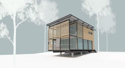 cabaña prefabricada copeland casati