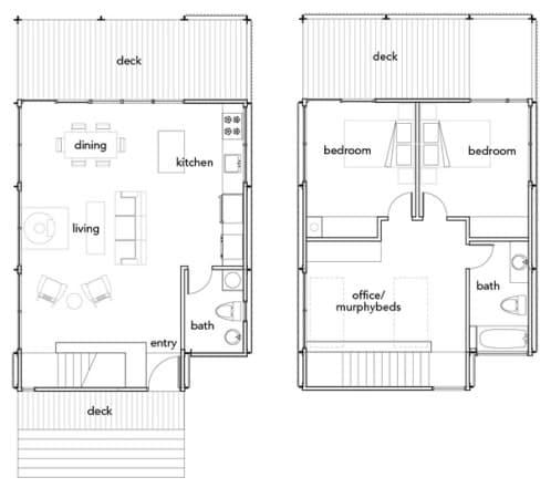 planos casa prefabricada
