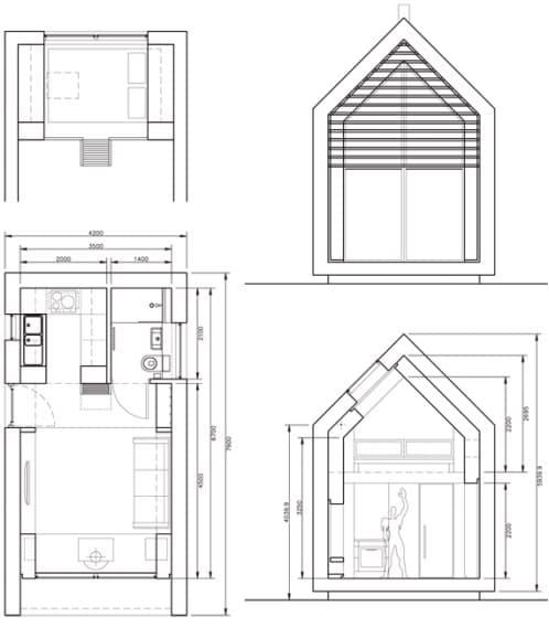 Cobertizos prefabricados para vivir is arquitectura prefab for Cobertizos prefabricados