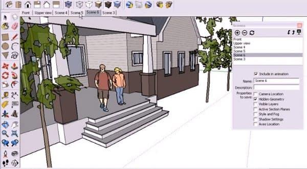 tutorial-escenas-sketchup