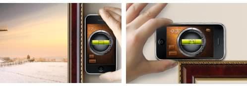 Nivel y plomada para el iPhone