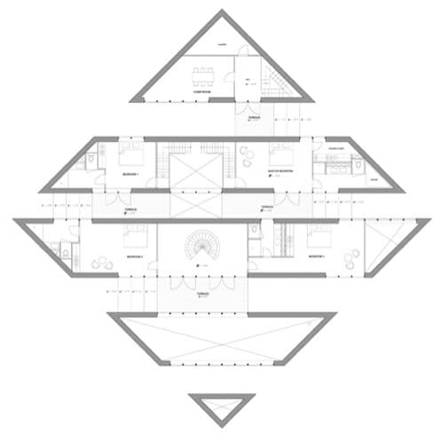 plano dormitorios casa 2 ordos