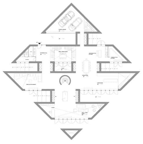 plano casa planta baja