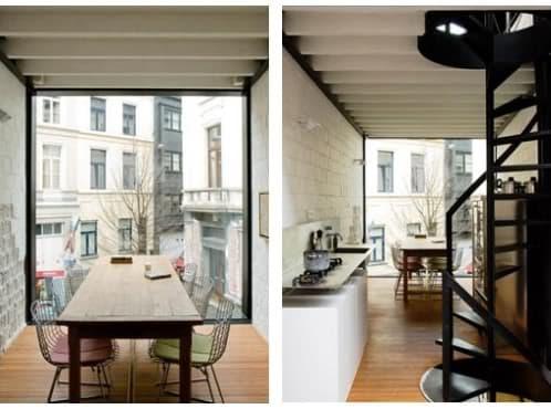 Vivienda de 2 4m de ancho is arquitectura prefab - Fluorescentes cocina ikea ...