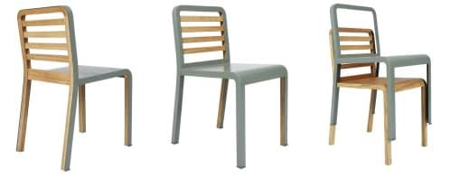 Twin chairs sillas apilables y diferentes is - Sillas apilables diseno ...