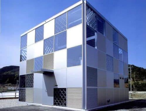 Vivienda Cubo de aluminio