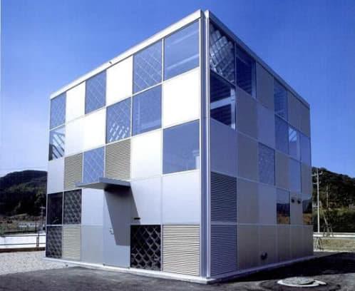 Casa prefabricada en kit modulares de aluminio ecoms house - Casas cubo prefabricadas ...