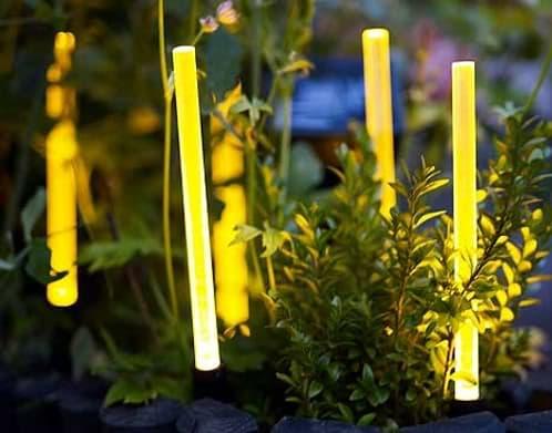 Leds con c lula solar para el jard n solig de ikea for Luces led jardin ikea