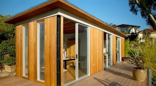 Caba as prefabricadas modernas modern cabana - Cabanas de madera pequenas ...