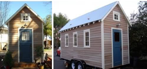 Fotos de casa diminuta sobre ruedas en venta tiny house - Casas prefabricadas moviles ...