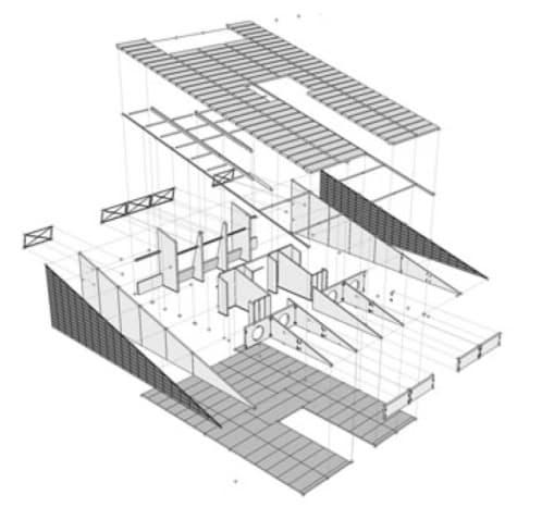 partes prefabricadas casa bioclimatica