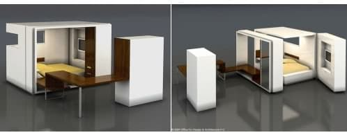 habitación modular prefabricada