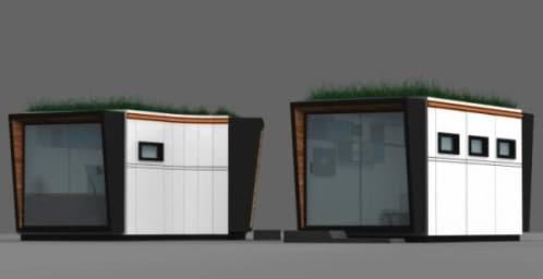 Concepto de m dulo prefabricado para oficina for Modulos oficinas prefabricados