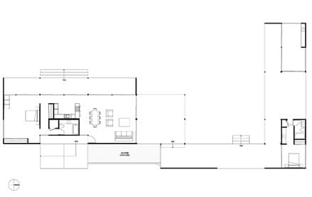 plano casa prefabrica desierto