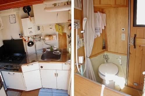 Camioneta transformable en caravana de 2 pisos - Interior caravana ...