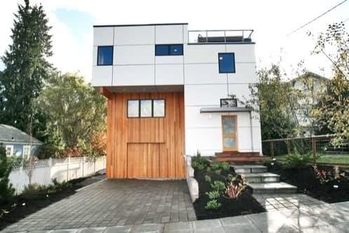 green cubed: casa moderna ecológica