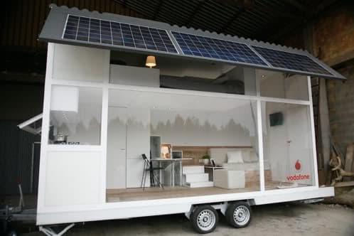 La casa sobre ruedas de vodafone arquitectura m vil con - Casas con ruedas ...