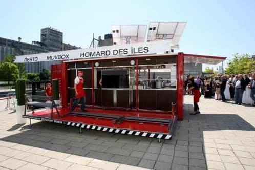 Müvbox: comida rápida desde el contenedor