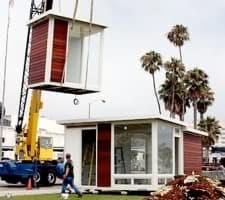 grua con casa modular md280