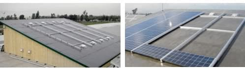 montaje sistema solar PVT