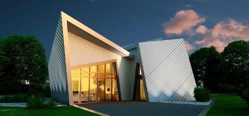 The Villa: la prefabricada de Daniel Libeskind