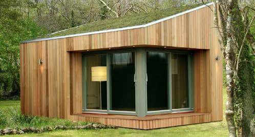 Casetas ecol gicas prefabricadas de madera roomworks - Casetas prefabricadas para jardin ...