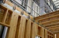 Los edificios de madera y los terremotos