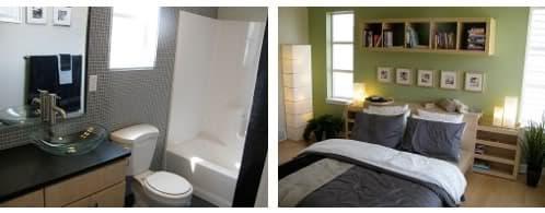 dormitorio principal y su baño