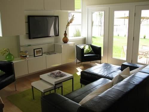 foto salón de la casa