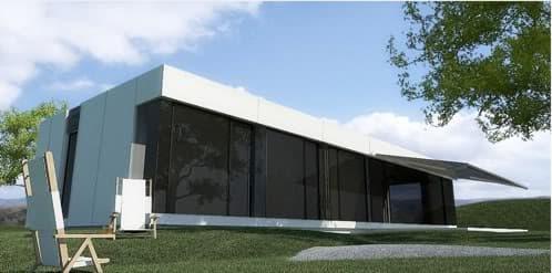 casas prefabricadas del estudio madrileño A-CERO