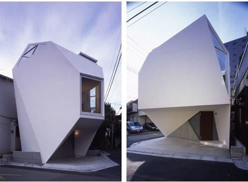 fachadas de la mineral house