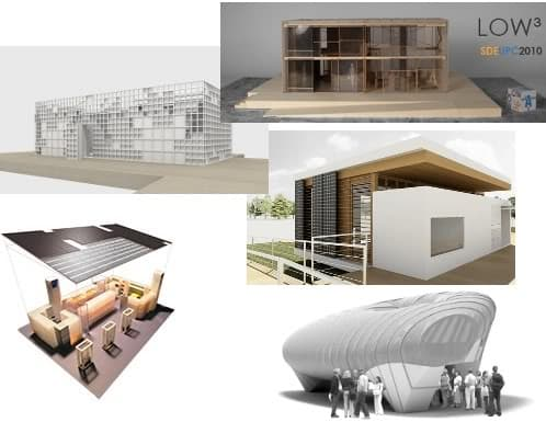 renders de viviendas sostenibles a concurso