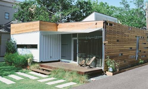 Cordell house casa con 4 contenedores de carga - Contenedores vivienda ...