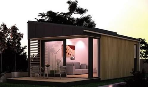 Pod space modernos cobertizos ecol gicos para el jard n for Cobertizos para jardin