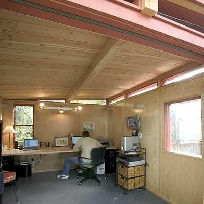 Modern shed cobertizo moderno prefabricado en kit for Cobertizos de chapa