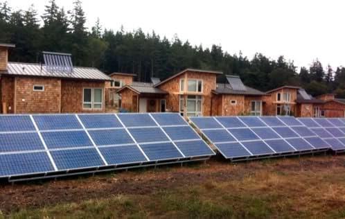 comunidad-casas-sostenibles en Isla Lopez