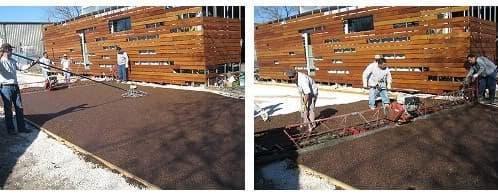 ejecución pavimento ecológico FilterPave