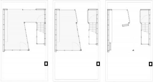 planos del pabellón en cubierta